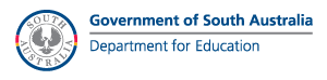 Government of South Australia, Department for Education logo
