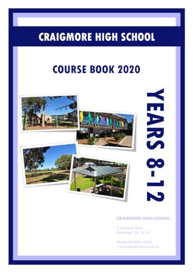 Course Book cover 2020