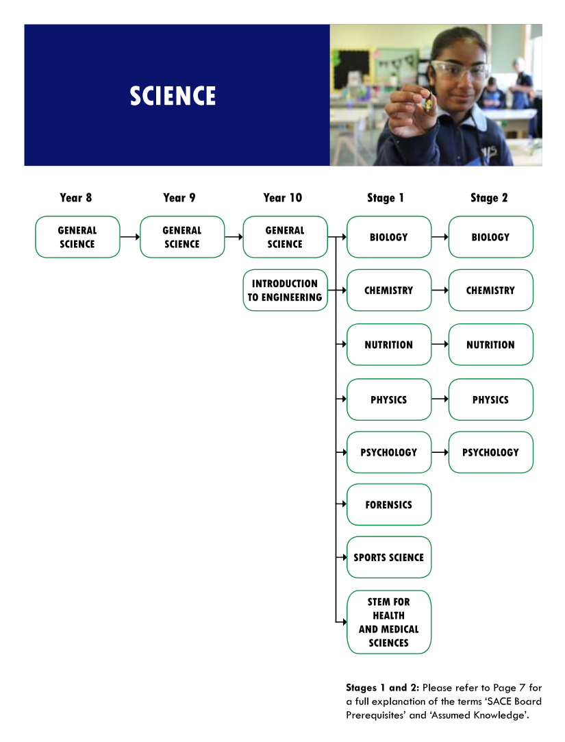 Science flowchart
